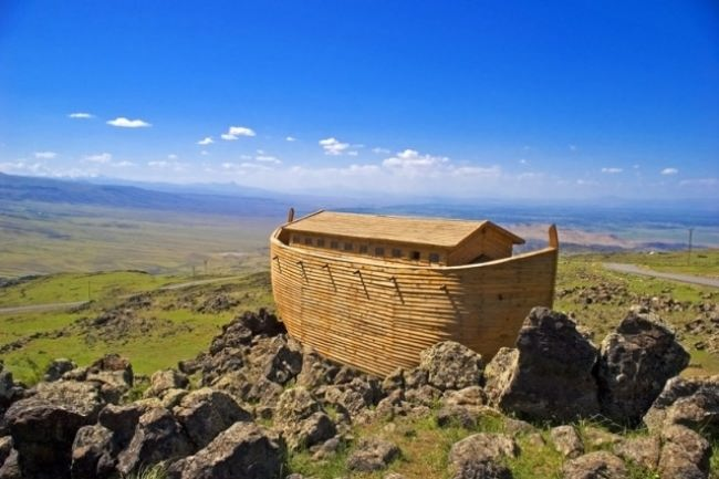 The Danish builder Johan Huibers built this exact copy of Noah's Ark in the Netherlands