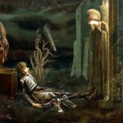 The Dream of Sir Lancelot at the Chapel of the Holy Grail, 1896, by Sir Edward Burne Jones