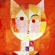The head of a cat. Original - Paul Klee, Senecio