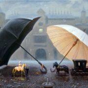 Valentin Rekunenko. Umbrellas