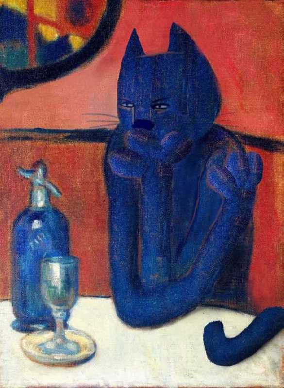 Valerian Lover. Original - Pablo Picasso, The Absinthe Lover