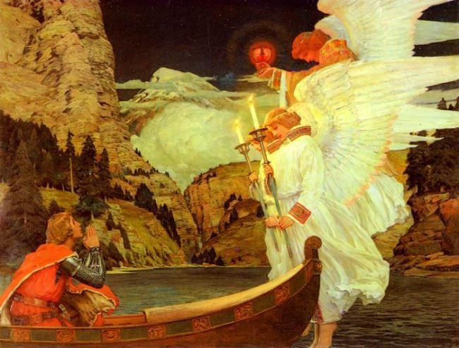 Waugh Frederick Judd. The Knight Of The Holy Grail