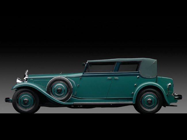 1931 Minerva AL Convertible Sedan by The Rollston Company