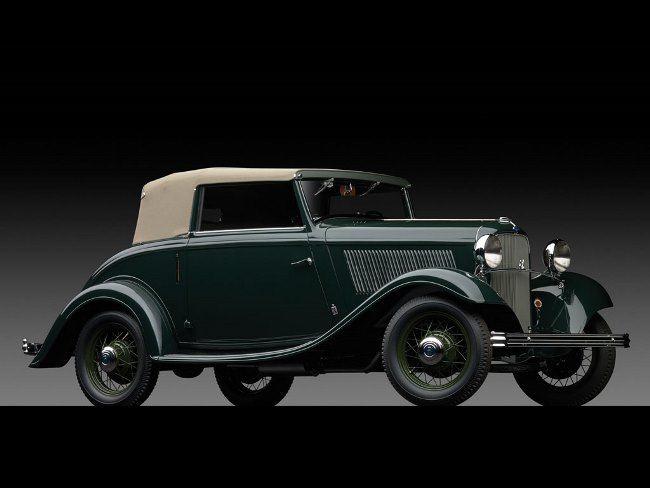 1932 Ford V-8 Cabriolet by Carrozzeria Pinin Farina