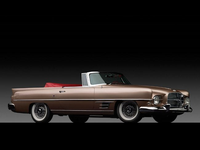 1957 Dual-Ghia Convertible by Carrozzeria Ghia