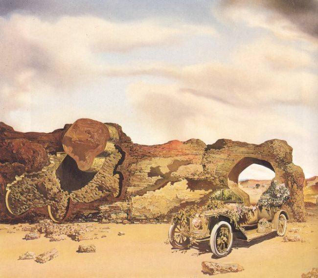 Car by Salvador Dali