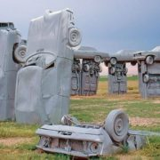 Carhenge by Jim Reinders