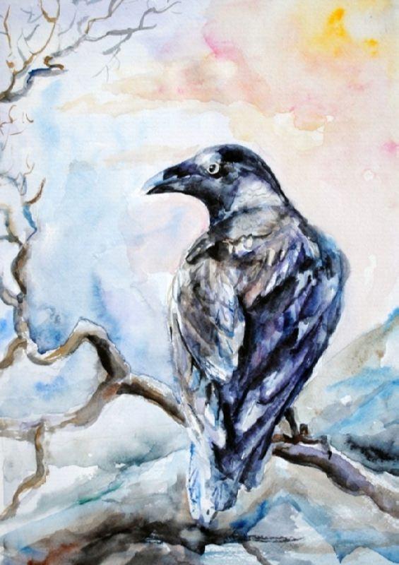 Charming crow