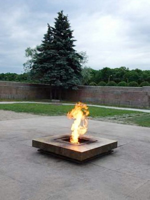 Eternal Flame in St. Petersburg, Russia