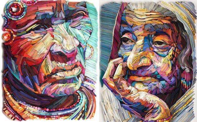 Gorgeous paper art by Yulia Brodskaya