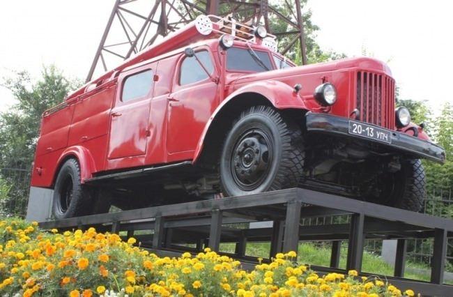 Krasnoyarsk. Fire truck