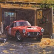 Magnificent Retro cars by Alan Fearnley