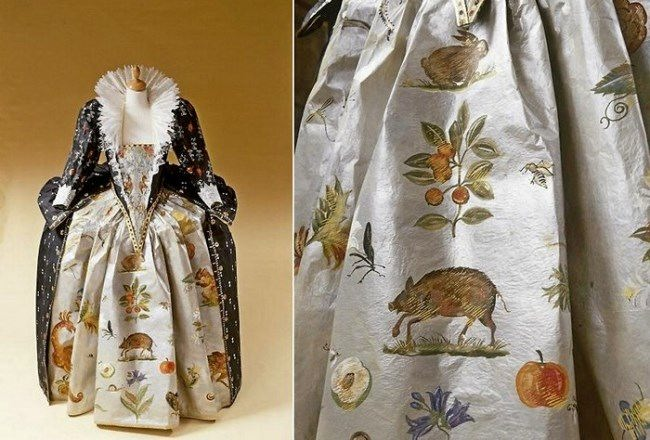 Paper fashion by Isabelle de Borchgrave