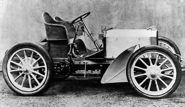 Racing version of Mercedes 35 hp