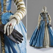 Vintage dresses made of paper by Isabelle de Borchgrave