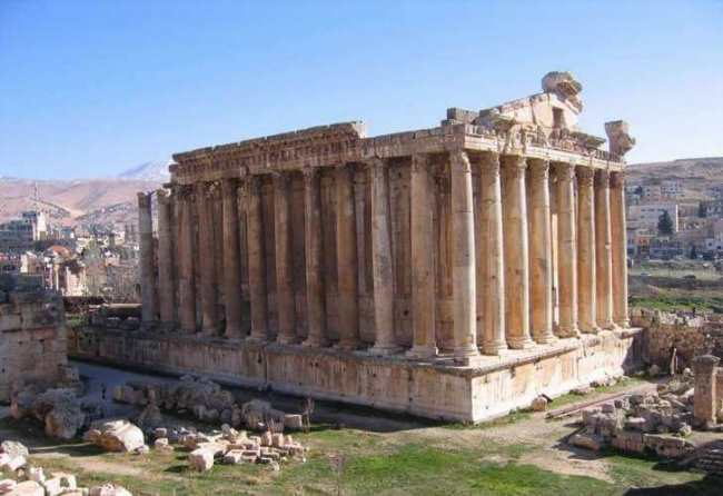 Ancient city of Baalbek