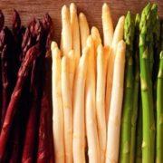 Colorful asparagus