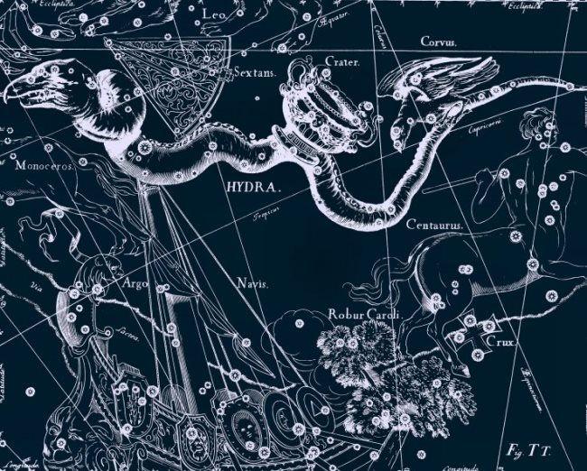 Hydra, Crater, Corvus