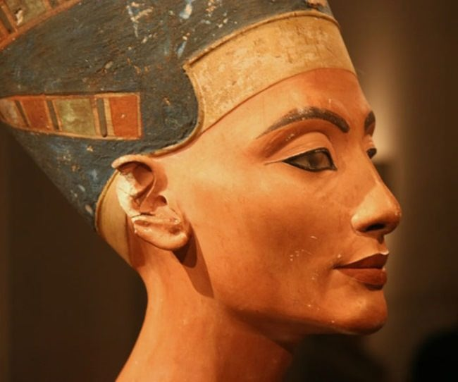 In the time of Queen Nefertiti, lipstick was made from the mother-of-pearl shells