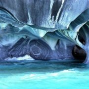 Marble caves in Patagonia