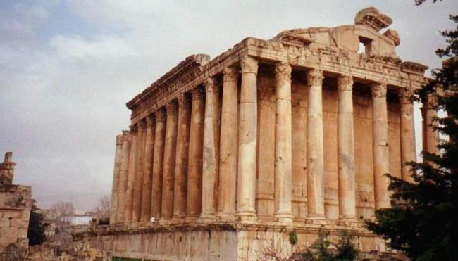 Temple complex in Baalbek