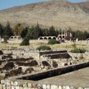 The ruins of Anjar