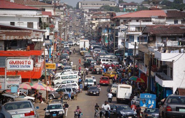 Center of Monrovia