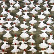 Dervishes perform a ritual dance