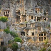 Lycian tombs