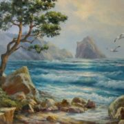 Picturesque seascape