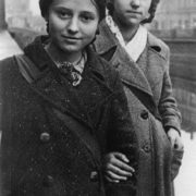 Schoolgirls Valya Ivanova (left) and Valya Ignatovich, who extinguished two incendiary bombs that fell on the attic of their house. 09.13.1941