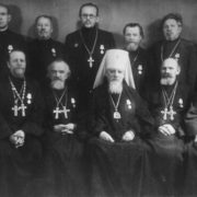 Soviet clergymen awarded with medals For the Defense of Leningrad