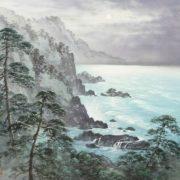 Amazing painting on silk