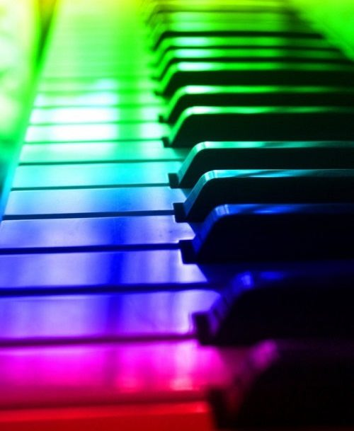 Associations of musical keys with colors. Color hearing and the inseparable connection of music and color
