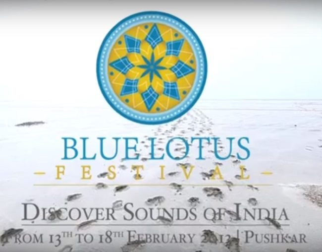 Indian Blue Lotus Festival