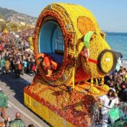 Menton France Colorful Lemon Festival