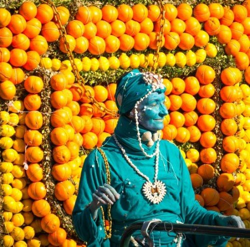 Welcome to Menton France Colorful Lemon Festival