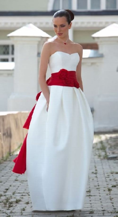 Red color wedding tradition