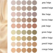 Beige Color Natural origin