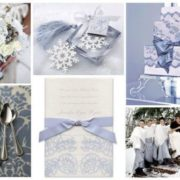 Choosing wedding color palette