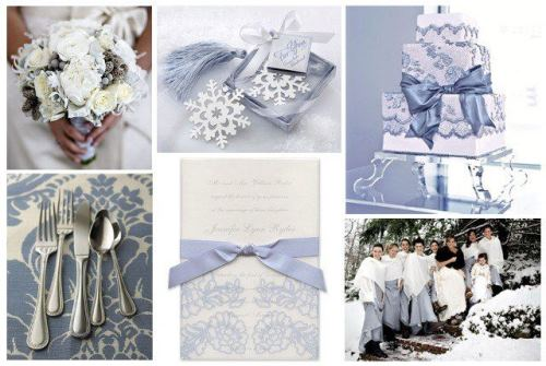Choosing wedding color palette