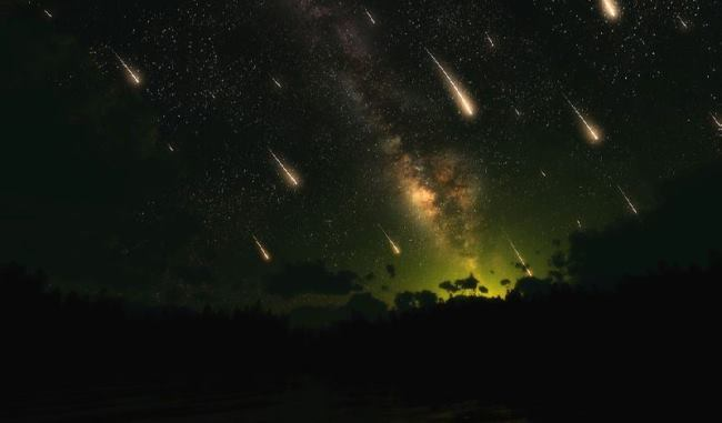 Meteor shower in China, February 11, 2012