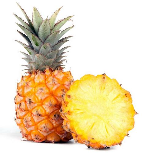 Pineapples - sweet juicy fruits