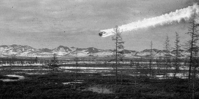 Tunguska meteorite